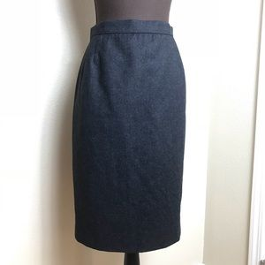 🛍Emanuel Ungaro   parallele Gray Pencil Skirt